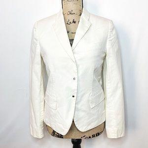 Gucci White Blazer Jacket
